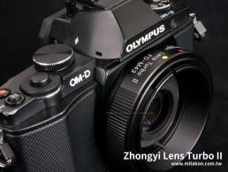 減焦環 2代 Lens Turbo II Canon FD FL 鏡頭 - M4/3 Micro 4/3 MFT