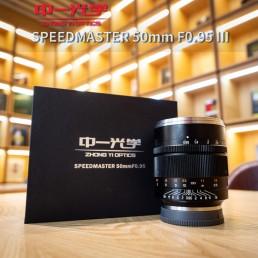 SpeedMaster 50mm F0.95 III V3 第3代EOS R口 手動鏡頭 超大光圈