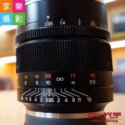 SpeedMaster 50mm F0.95 III V3 第3代E口 E-mount 手動鏡頭 超大光圈
