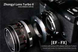 減焦環 2代 Lens Turbo II EOS EF-NEX E系列相機 減焦增光環